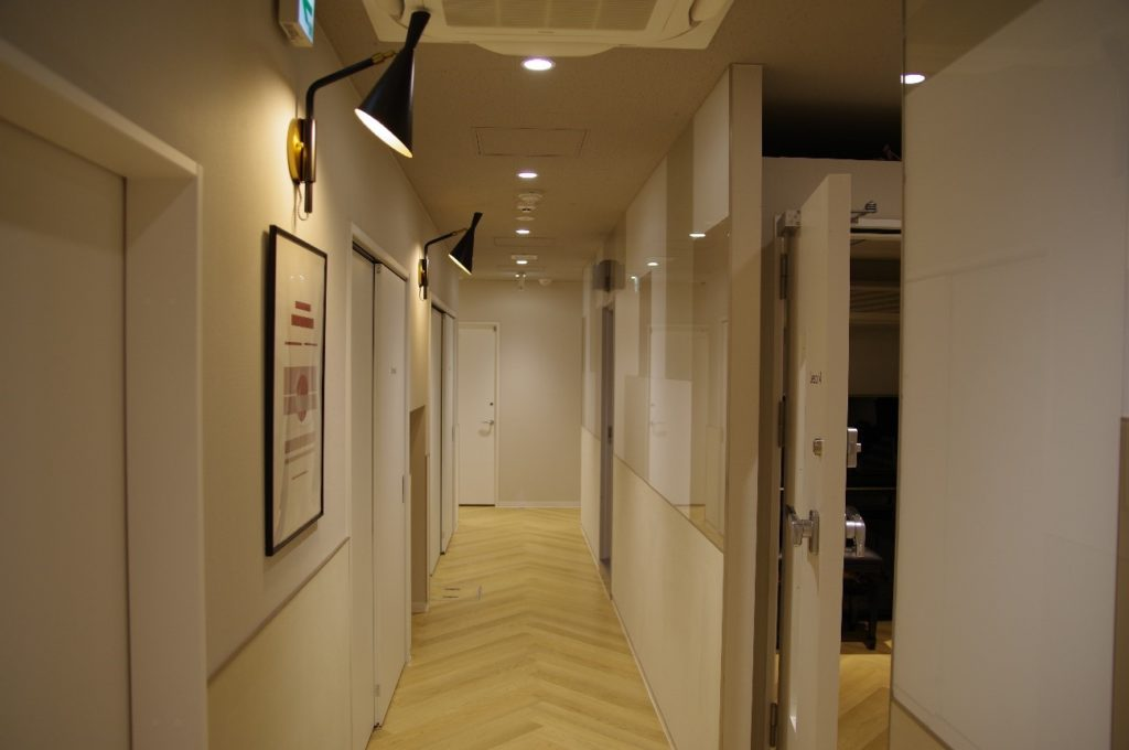 京都スタジオ内の様子