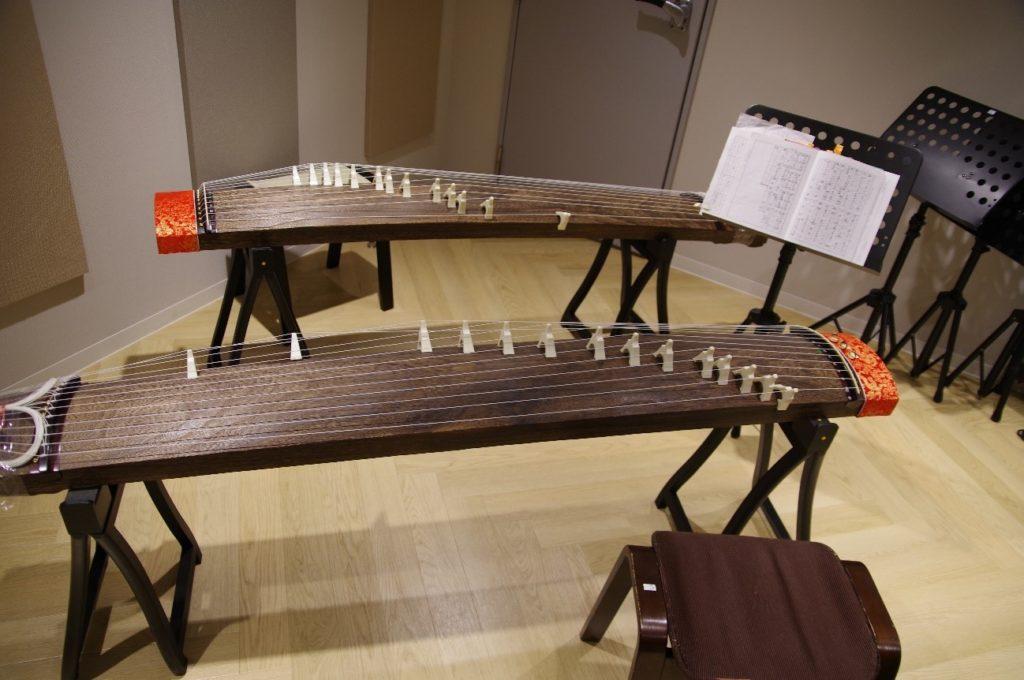 EYSミュージックスクールで使う筝(琴)