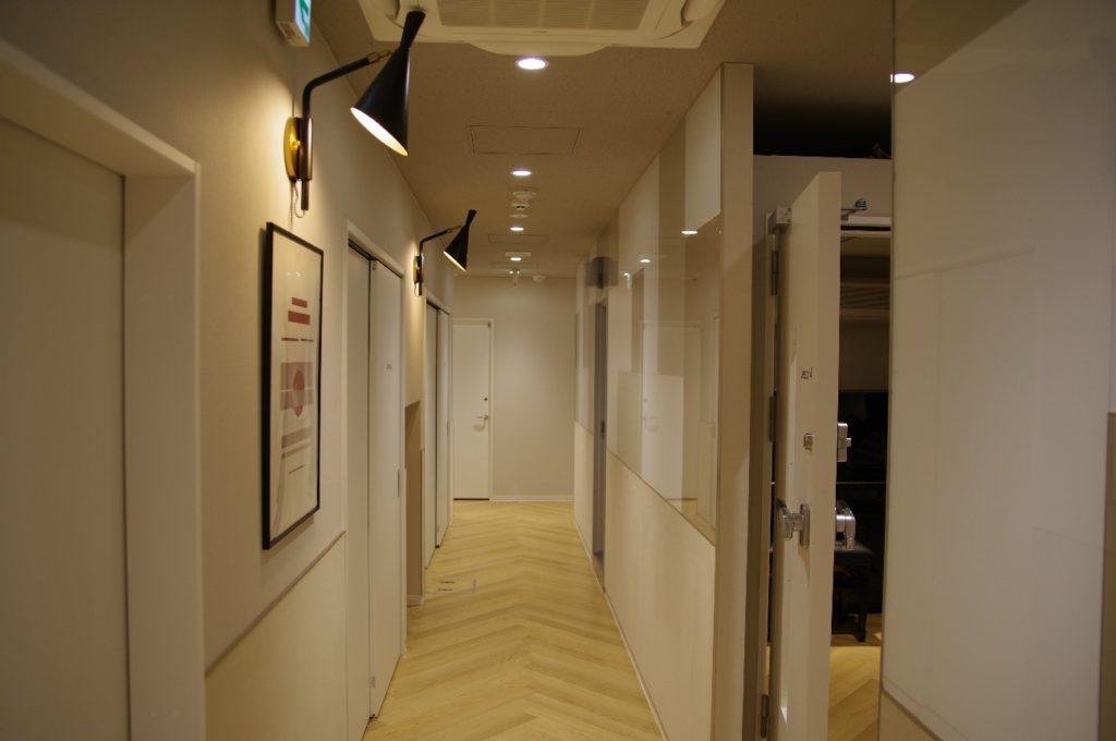 京都スクールの中はいくつかの部屋が用意されています