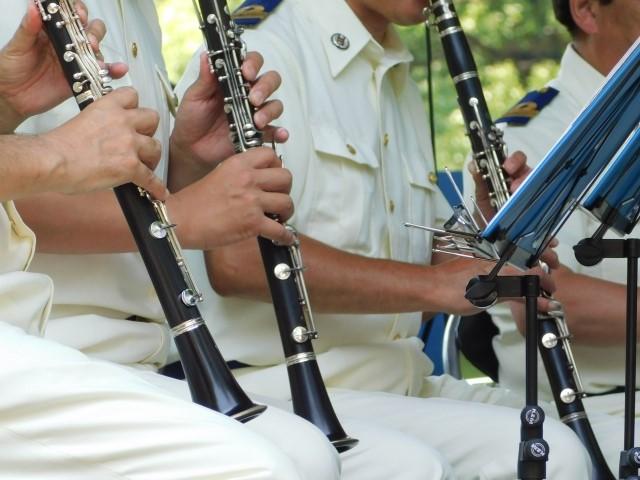 吹奏楽で人気のクラリネット